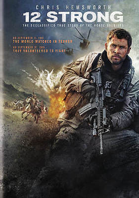 12 STRONG (DVD, 2018) BRAND NEW, Chris Hemsworth, Action *FREE SHIPPING!