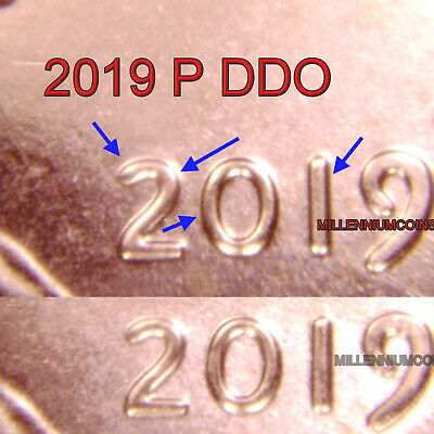 2019 P Lincoln Shield Penny Ddo / Date / From Roll Lqqk