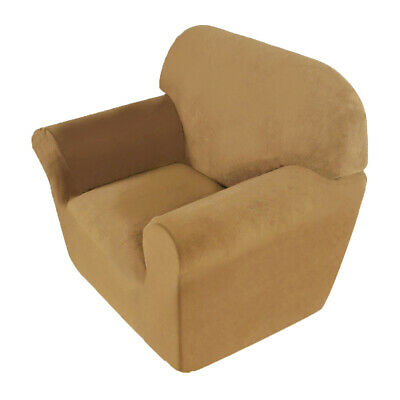 Solid Modern Slipcover Seater Stretch Chair Seat Sofa Couch Elastic Cover