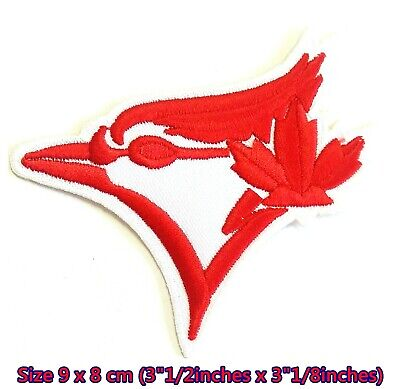 Embroidered PATCH Officially Licensed CANADA LEAF 3 x 3.5 Iron-On / Sew-On