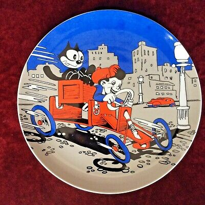 Monkeys of Melbourne Plate Felix the Cat Products 1988 Boy in Go-cart RARE