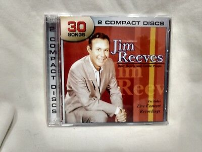 Jim Reeves Dear Hearts And Gentle People 2 CD Set 30 Songs From Legacy Cd6485