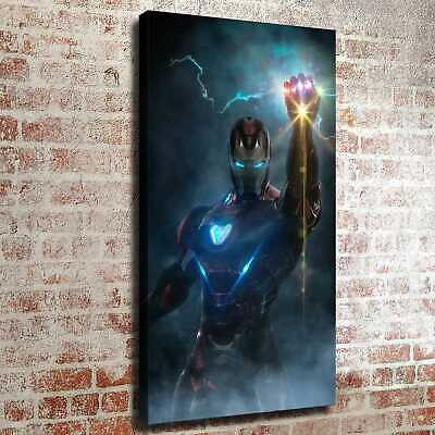 """12""""x22""""Iron man and cool hand Poster HD Canvas print Painting Home decor art"""