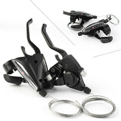 Shimano Acera ST-EF65-9 MTB Bike Brake Shifter Levers Shift 3x9 Speed w/ Cable