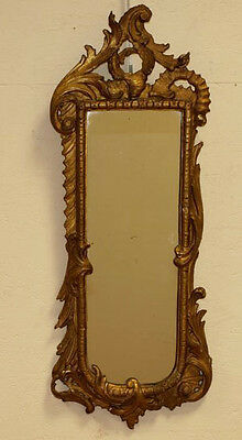 Exclusive Carved wood stucke French louis XV gold gilt mirror 1900
