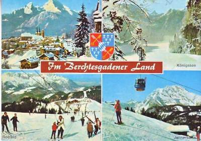 Germany - Greetings from Berchtesgadener Country (Post Card) Circa 1970's
