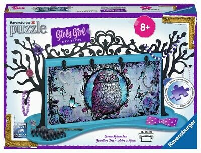 Ravensburger 3D Puzzle Sneaker Animal Trend Girly Girl Edition Stiftebox 108 T. Puzzles & Geduldspiele