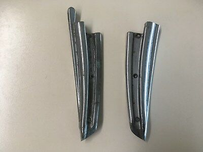 Fiat 850 Spider B-pillar trim set