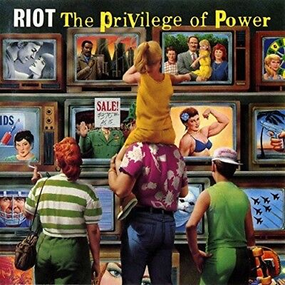 Riot - The Privilege Of Power  Cd New
