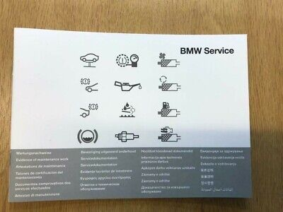 BMW SERVICE BOOK BRAND NEW GENUINE FOR MODELS F20 / F21 – 1-Series