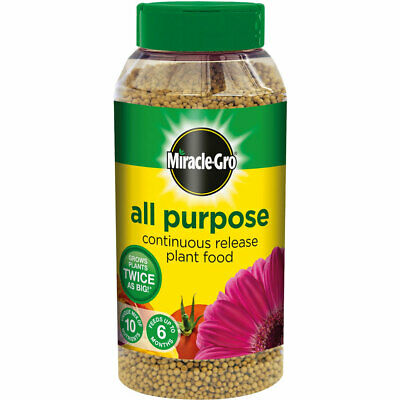 Miracle Gro All Purpose Continuous Release Fruit Vegetable Plant Food Granule