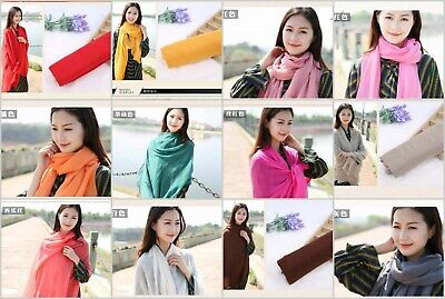 US SELLER, 30 scarves wraps plain fashion casual light weight shawls wholesale