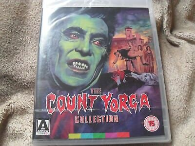 The Count Yorga Collection Arrow UK Region B (READ DETAILS) BRAND NEW Blu-ray