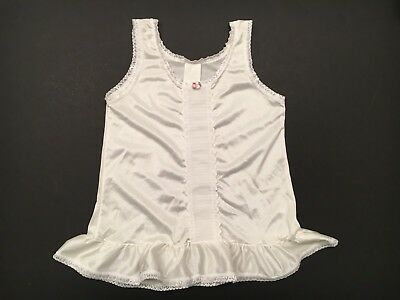 Vintage toddler Girls White Slip Size 3T