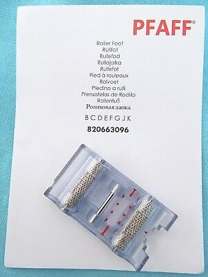 Pfaff Roller Foot #820663096 For Pfaff Domestic Sewing Machines Snap-On