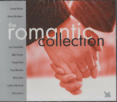 5 CD s - THE ROMANTIC COLLECTION - AS LONG AS YOU LOVE ME - SECRET LOVE etc.