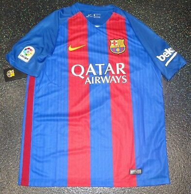 62f2084ad BNWT NIKE FCB FC Barcelona Home Shirt - XL Boys Girls Kids Age 13 15 ...