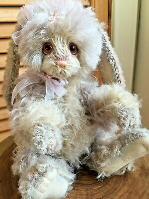 Dolls & Bears Charlie Bear Cobweb Bunny Rabbit Cb124949 By Isabelle Lee With Tag