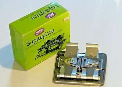 Movie Splicer - Boots Supasplice for Standard 8 Super 8 and 16mm film with box