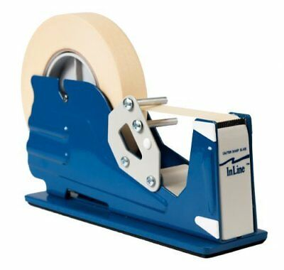 "Inline All Purpose Tape Dispenser, Heavy Duty Table Top For Tapes 1"" Wide"