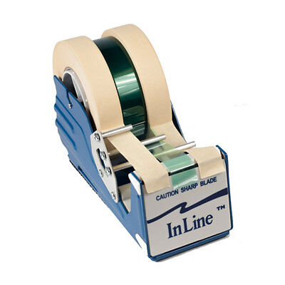 "Inline All Purpose Tape Dispenser Heavy Duty Table Top For Tapes Up To 3"" Wide"