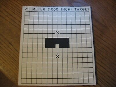 """DOD M16A1TF 25-Meter Scaled Silhouette Timed-Fire Target 17.5/"""" x 22.25/"""""""