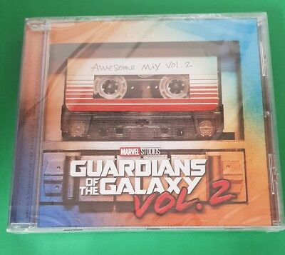 GUARDIANS OF THE GALAXY 2 (Soundtrack) CD (2017)