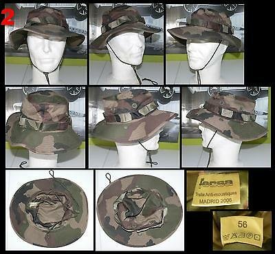 010d823a3d8 ORIGINAL FRENCH ARMY boonie hat Military Camouflage France jungle ...