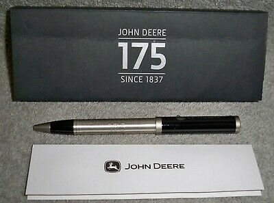 JOHN DEERE 175 Year Anniversary Engraved Baal Point Pen with New in Box f1fa9fb01352