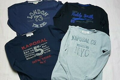 10f15157ada21 Lot 4 tee-shirts manches longues garçon 16 ans PEPE JEANS KAPORAL TEDDY  SMITH