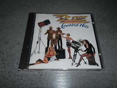 "ZZ Top  ""Greatest Hits""   CD  Album"