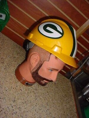 e877c4b9e35 NFL Green Bay Packers Hard Hat -Team Hard Hat with Adjustable Fit Suspension
