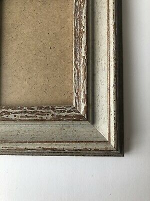 NEW Quality wooden ACEO Art/sports card 3.5 x 2.5 Brown/grey frame