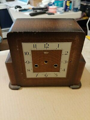 Smiths Enfield Art Deco Mantle Clock Case And Dial