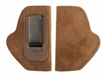 Holsters Fhl_sm Leather Suede Holster_for Keltec P3at_iwb_conceal Carry_usa_brown_rh_lh_