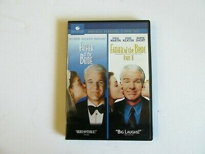 Father Of the Bride 1 & 2 Steve Martin 2 DVD Double Feature