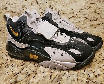 8da45186b34151 Nike Air Max Speed Turf Black Grey Yellow Size 6.5 AV7895-001 Mens Dieon NEW