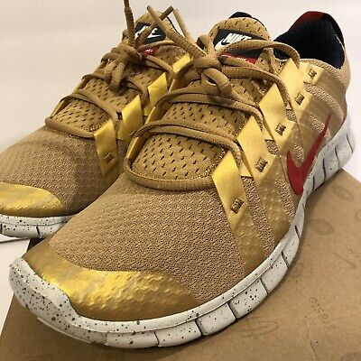 a935d8bee1cf 2012 Nike Free Powerlines + Nrg Olympic Gold Medal Red White Run 548179-764  10