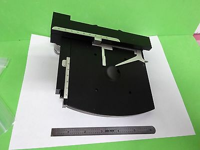 Microscope Pièce Sauvage Heerbrugg Suisse M-12 Stage Table Optiques Tel Quel