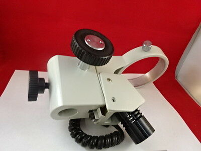 Microscope Pièce Mitutoyo Japon Support Assemblage + Lampe Optiques Tel Quel B #