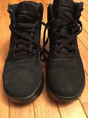 sports shoes 19c95 27c29 Nike Hoodland Boots Size 11.5 Black ACG duckboot Hiker