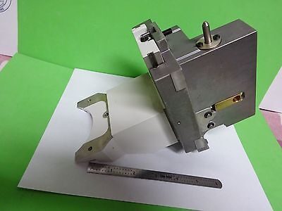 Microscope Pièce Dmr Dmrm Leica Allemagne Grand Stage Support Bin #8X-L-01