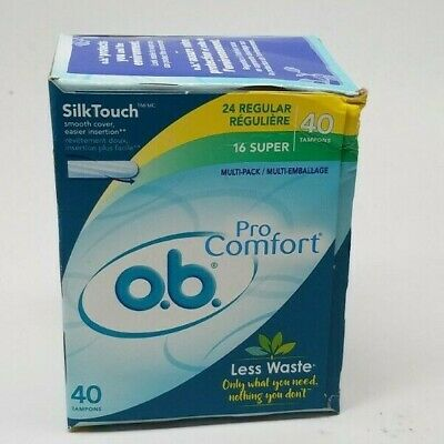 O.B. Pro Comfort Silk Touch 40 Tampons