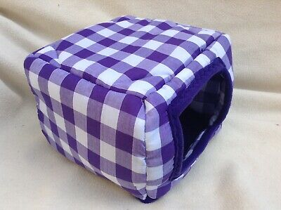 Purple gingham sqube