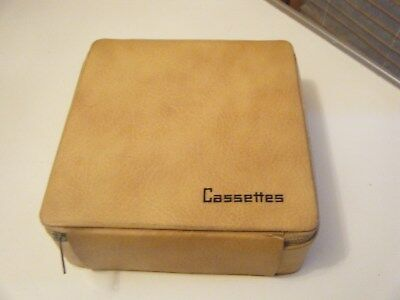 Vintage retro 60s Vermont cassette tape storage case holds 24 tapes made in AUS.