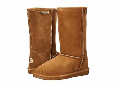 395157146d22 New Kids Youth Bearpaw Emma Tall Boots Hickory Ii Wool Suede Original Size 3