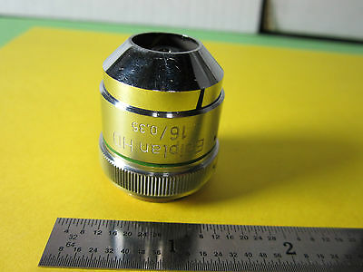 Optique Microscope Objective Epiplan 16 X HD Zeiss Allemagne Optiques Bin #