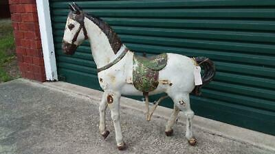 Antique Tin Carousel Horse..from Germany..c1800'S