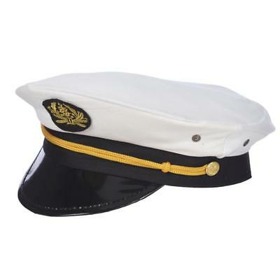 Sailor Captains Navy Hat Adult Kid's Cap Costume