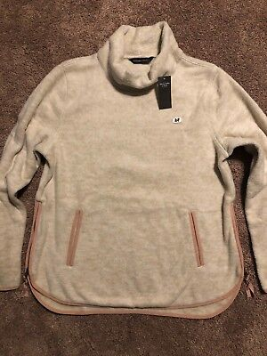 1032a234ad Nwt Womens Size Large Abercrombie   Fitch Cowl Neck Sherpa Fleece Pullover